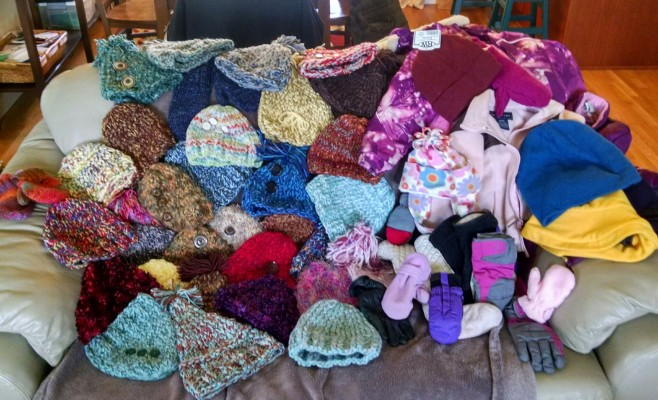 Coats&Hats&Mittens - first day's collection