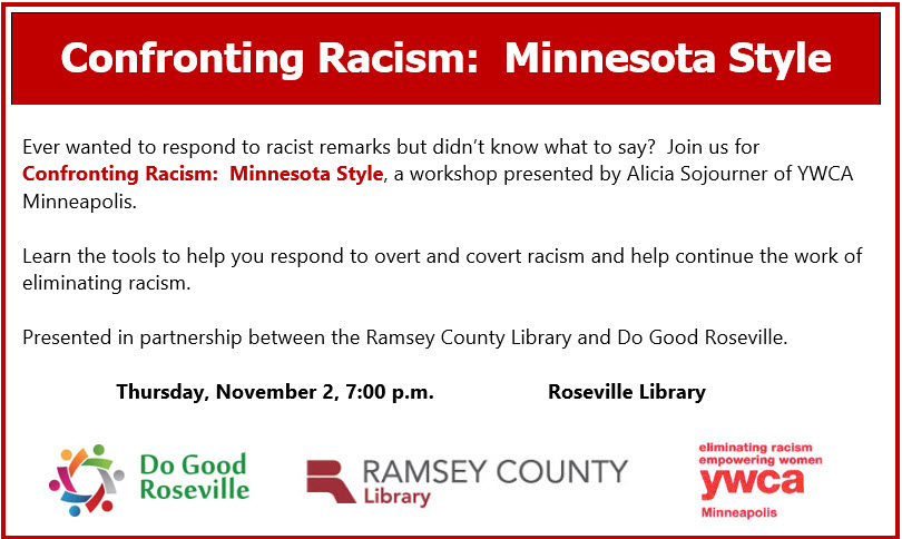 Website Confronting Racism Adult