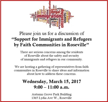 Immigration meeting Mar 15 2017