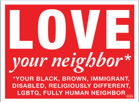 sign Love thy Nei