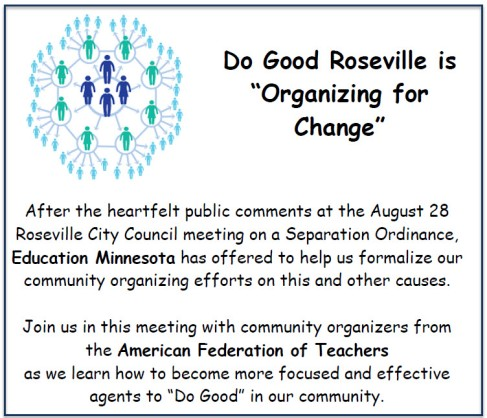 Organizing for Change half page