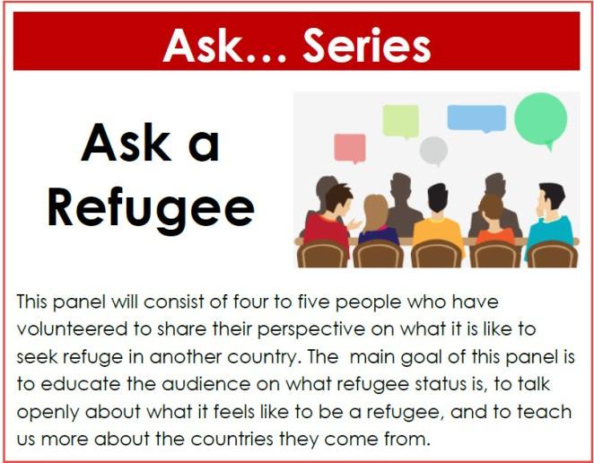 website past event Ask Refugee